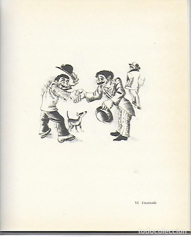 Libros de segunda mano: Sobre Xavier Nogués i la seva circumstància amb 46 litografies de X. Nogués / Salvador Espriu. BCN : - Foto 5 - 157222038