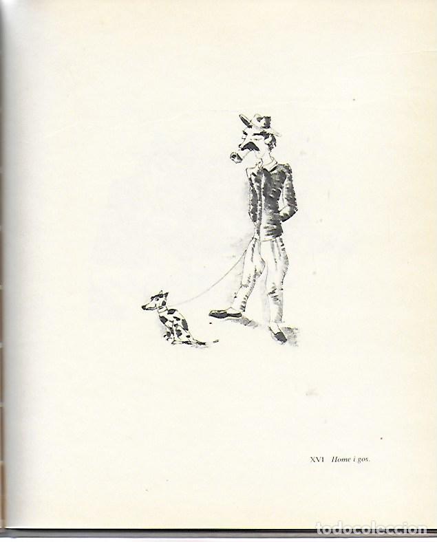 Libros de segunda mano: Sobre Xavier Nogués i la seva circumstància amb 46 litografies de X. Nogués / Salvador Espriu. BCN : - Foto 6 - 157222038