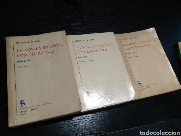 LA NOVELA ESPAÑOLA CONTEMPORÁNEA. EUGENIO G. DE NORA (Libros de Segunda Mano (posteriores a 1936) - Literatura - Otros)