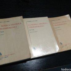 Libros de segunda mano: LA NOVELA ESPAÑOLA CONTEMPORÁNEA. EUGENIO G. DE NORA. Lote 157269577