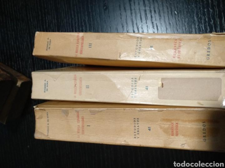 Libros de segunda mano: La novela española contemporánea. Eugenio G. de Nora - Foto 2 - 157269577