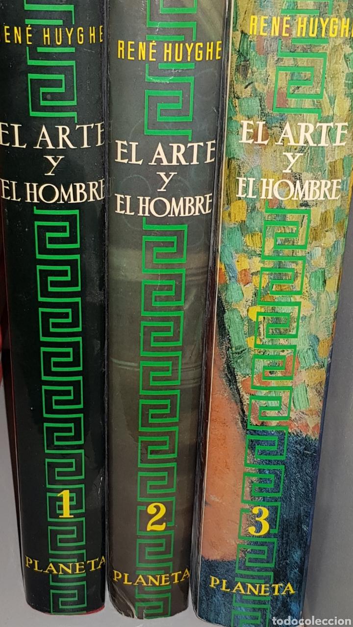 HUYGHE, RENE. - EL ARTE Y EL HOMBRE (3 VOLUMENES). - ARM07 (Libros de Segunda Mano - Bellas artes, ocio y coleccionismo - Otros)