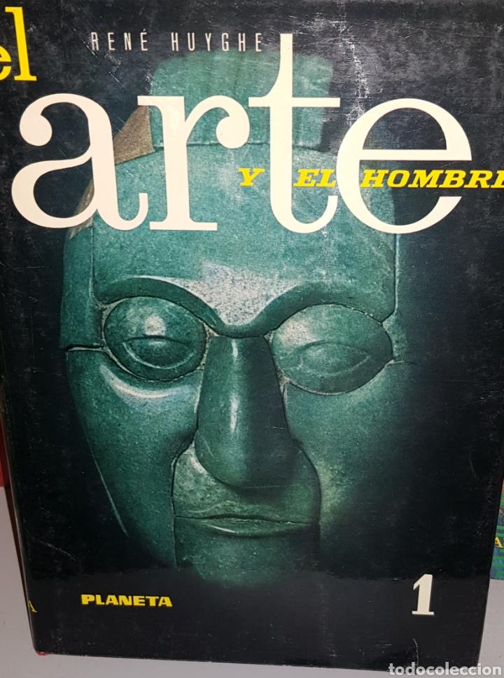 Libros de segunda mano: HUYGHE, Rene. - EL ARTE Y EL HOMBRE (3 VOLUMENES). - arm07 - Foto 2 - 157539542