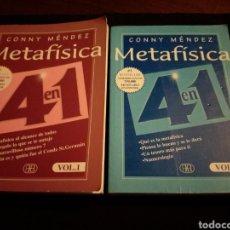 Livres d'occasion: METAFÍSICA 4 EN 1. VOL. 1 Y 2(DE 3). CONNY MÉNDEZ. Lote 176833512
