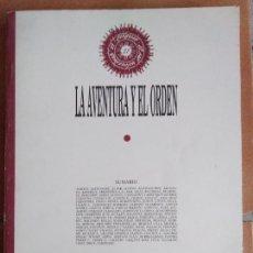 Libros de segunda mano: LA AVENTURA Y EL ORDEN. CONGRESO LA GENERACIÓN DEL 27: TRADICIÓN Y VANGUARDIA. CÁDIZ, 1990.. Lote 157354604