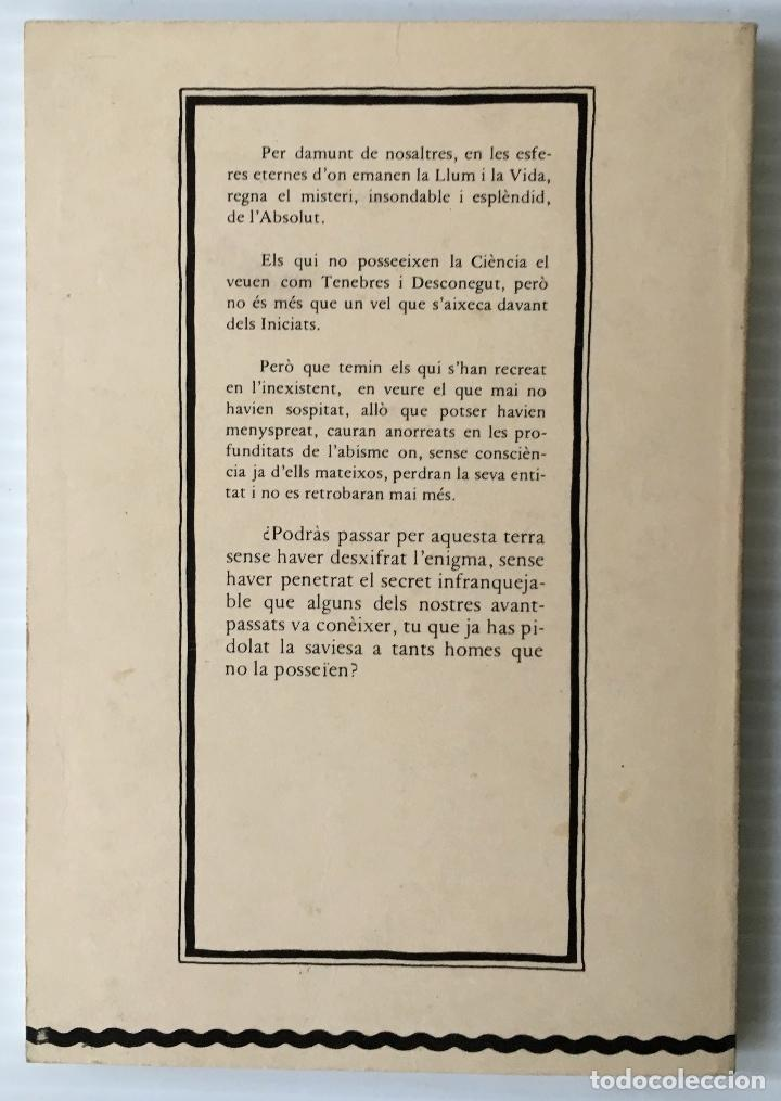 Libros de segunda mano: LA GRAN OBRA. GRILLOT DE GIVRY. BIBLIOTECA ESOTÈRICA. ALQUIMIA. MAGIA. - Foto 2 - 216642338