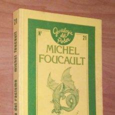 Libros de segunda mano: MICHEL FOUCAULT - GENEALOGÍA DEL RACISMO [CURSO EN EL COLLEGE DE FRANCE, 1975-1976]. Lote 139583854