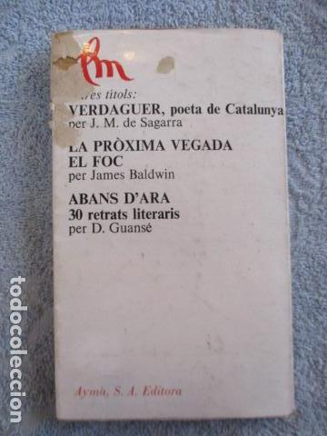 Libros de segunda mano: ELS MOTS - J.P.SARTRE - EDITORIAL AYMA SA -1968 - EDICIONS PROA - Foto 10 - 157863298