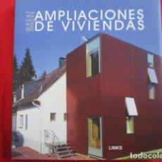 Libros de segunda mano: NUEVAS AMPLIACIONES DE VIVIENDAS - COMO NUEVO. Lote 157874690