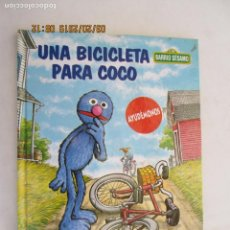 Libros de segunda mano: BARRIO SESAMO - UNA BICICLETA PARA COCO. . Lote 157875270