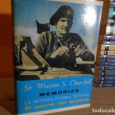 Libros de segunda mano: EL GOZNE DEL DESTINO / SIR WINSTON S.CHURCHILL. Lote 157896686