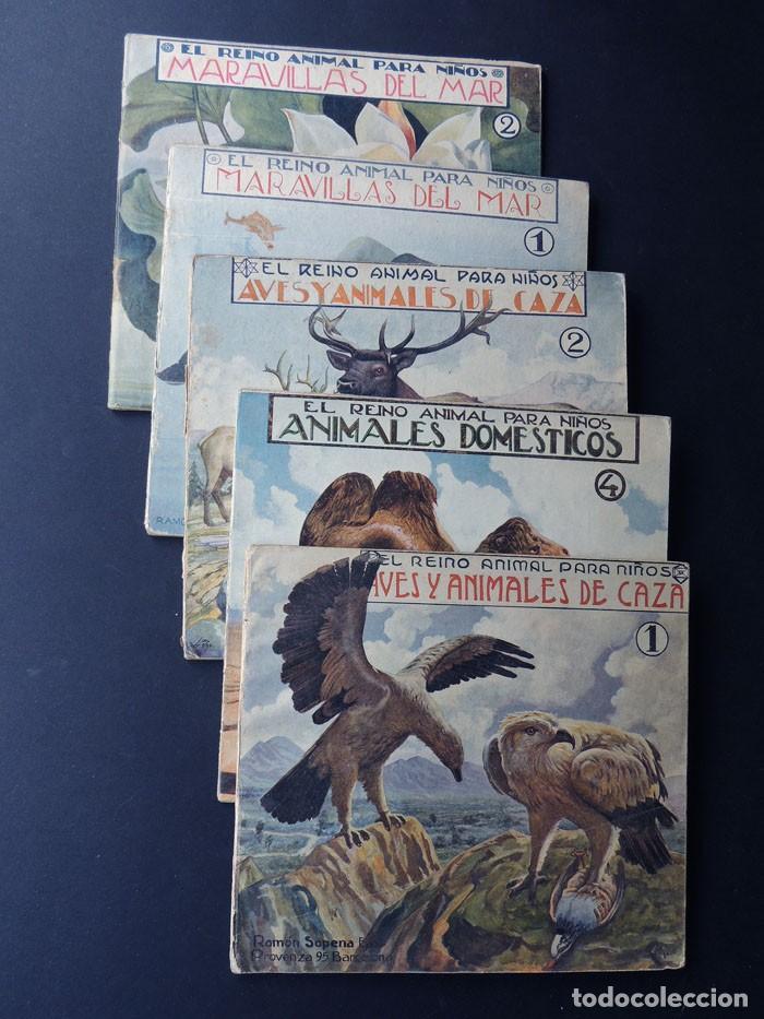 EL REINO ANIMAL PARANIÑOS / 5 EJEMPLARES / RAMON SOPENA (Libros de Segunda Mano - Literatura Infantil y Juvenil - Otros)