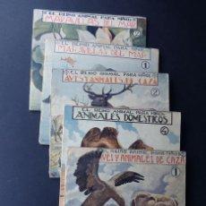 Libros de segunda mano: EL REINO ANIMAL PARANIÑOS / 5 EJEMPLARES / RAMON SOPENA. Lote 173617085