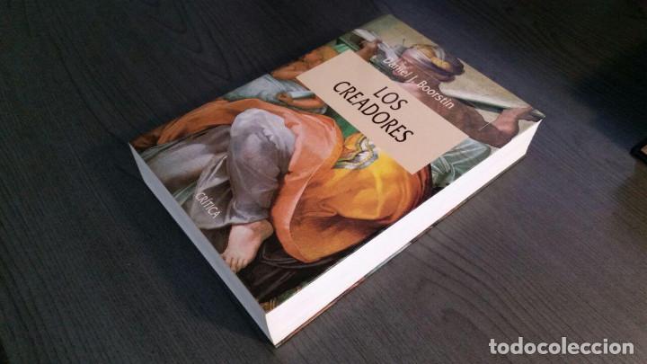 Libros de segunda mano: Los creadores. Daniel J. Boorstin. - Foto 2 - 157920930