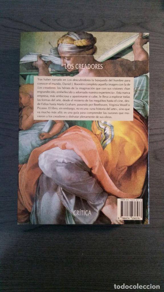 Libros de segunda mano: Los creadores. Daniel J. Boorstin. - Foto 3 - 157920930