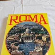 Libros de segunda mano: PRECIOSA Y ÚNICA GUIA DE ROMA, EN ITALIANO, 1975, VER. Lote 157932657