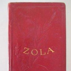 Libros de segunda mano: ÉMILE ZOLA. OBRAS INMORTALES. LA TABERNA. MANÁ. LA TIERRA. LA BESTIA HUMANA. BUENOS AIRES. . Lote 157956234