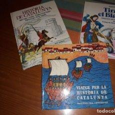 Libros de segunda mano: ·3 LLIBRES PER CONEIXER LA HISTORIA DE CATALUNYA***. Lote 158140386