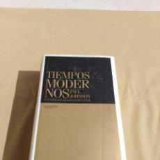 Libros de segunda mano: TIEMPOS MODERNOS. Lote 158144030