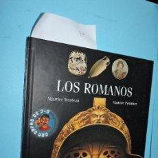Libros de segunda mano: LOS ROMANOS. MEULEAU, MAURICE; POMMIER, MAURICE. ED. SM. MADRID 2002. Lote 158190846