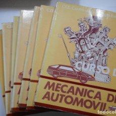 Libros de segunda mano: MECÁNICA DEL AUTOMOVIL (7 TOMOS) Y93311. Lote 158225770
