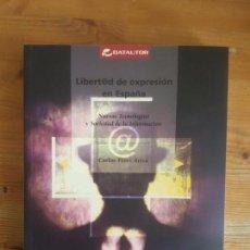 Libros de segunda mano: IMAGEN DEL VENDEDOR LIBERTAD DE EXPRESIÓN EN LA SOCIEDAD DE LA INFORMACIÓN PÉREZ ARIZA, SGAE 2003. Lote 158312974