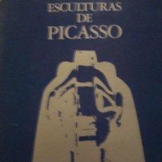 Libros de segunda mano: ESCULTURAS DE PICASSO. Lote 158317498