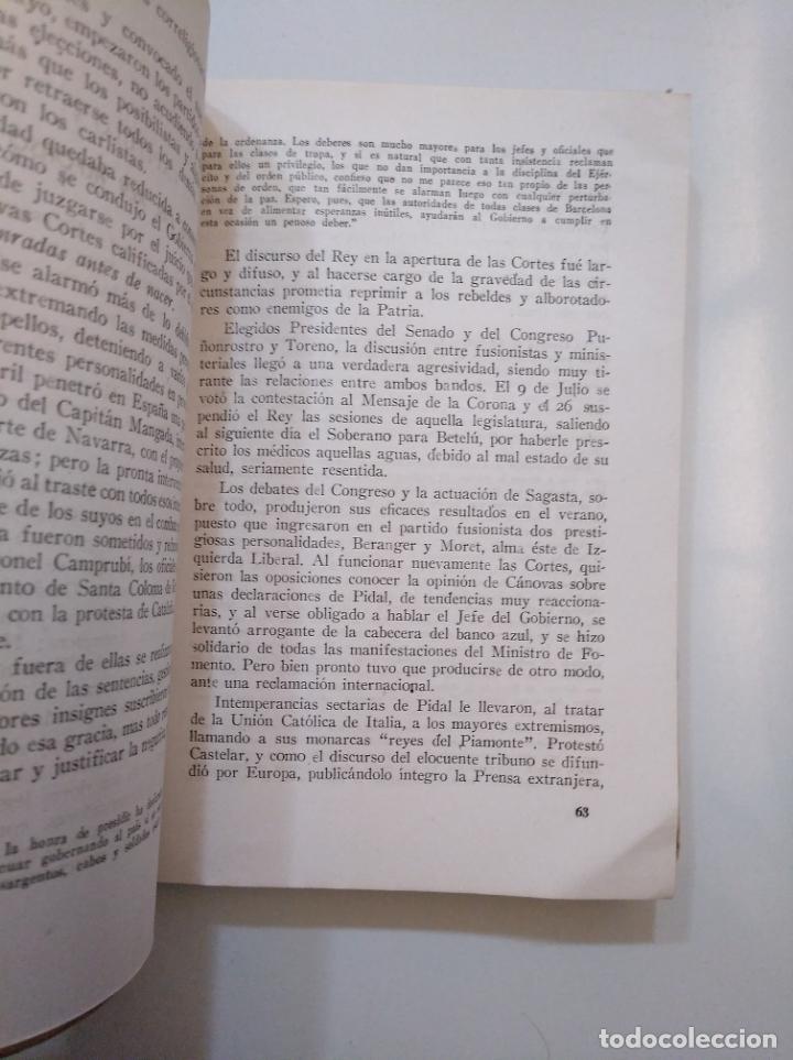 Libros de segunda mano: Los partidos políticos en España y sus jefes en la época contemporanea. ENRIQUE ESPERABÉ 1951 TDK378 - Foto 3 - 158370190