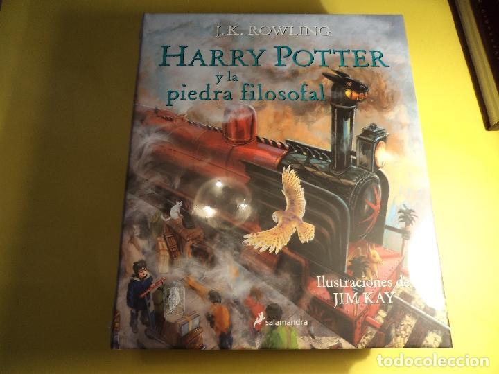 HARRY POTTER Y LA PIEDRA FILOSOFAL. J.K. ROWLING (Libros de Segunda Mano - Literatura Infantil y Juvenil - Otros)