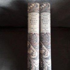 Libros de segunda mano: VIDAS MÁGICAS E INQUISICIÓN / JULIO CARO BAROJA / EDI. CÍRCULO DE LECTORES / 1ª EDICIÓN 1990. Lote 158418354