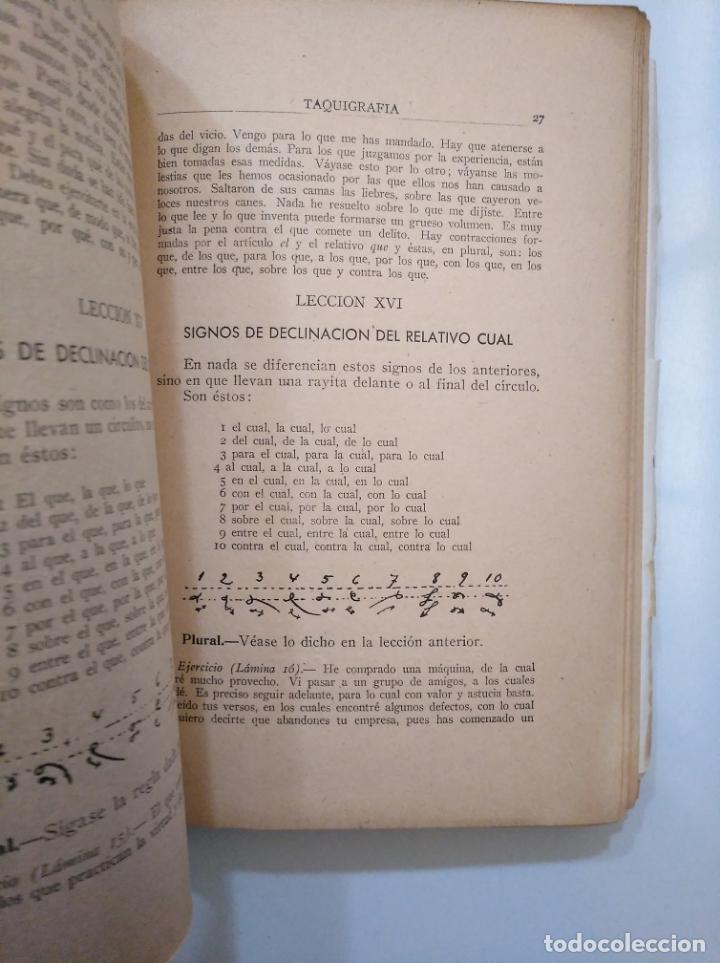 Libros de segunda mano: TAQUIGRAFIA. METODO TEORICO PRACTICO BREVE CLARO Y COMPLETO. SISTEMA MARTI. F. GOMEZ 1939. TDK378 - Foto 2 - 158426210