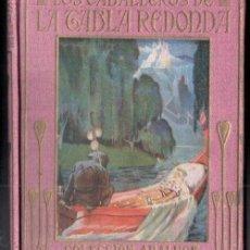 Libros de segunda mano: LOS CABALLEROS DE LA TABLA REDONDA (ARALUCE, C. 1940) ILUSTRADO POR SEGRELLES. Lote 158441878