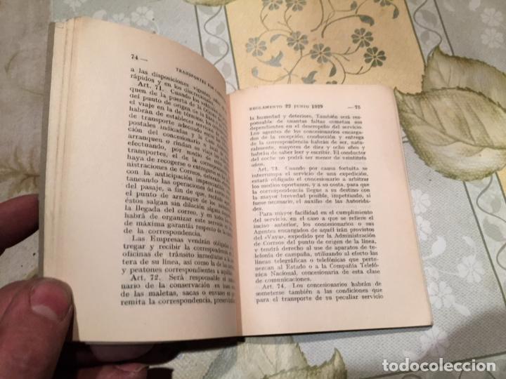 Libros de segunda mano: Antiguo libro Régimen de los servicios públicos de transporte por carretera con vehículos de motor - Foto 3 - 158479578