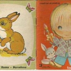 Libros de segunda mano: CUADERNO DE PINTURA Nº 3, EDIT. ROMA 1983 - ILUSTRA HELENITA - SERIE REGALO. Lote 158519754