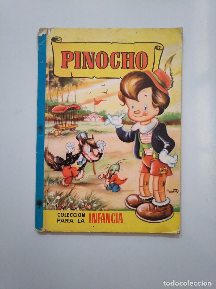 PINOCHO. COLECCION PARA LA INFANCIA. JULIO 1958. EDITORIAL BRUGUERA. TDK379 (Libros de Segunda Mano - Literatura Infantil y Juvenil - Otros)