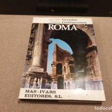 Libros de segunda mano: GRANDES CIVILIZACIONES......ROMA........ FILIPO COARELLI.........1971..... Lote 158576658