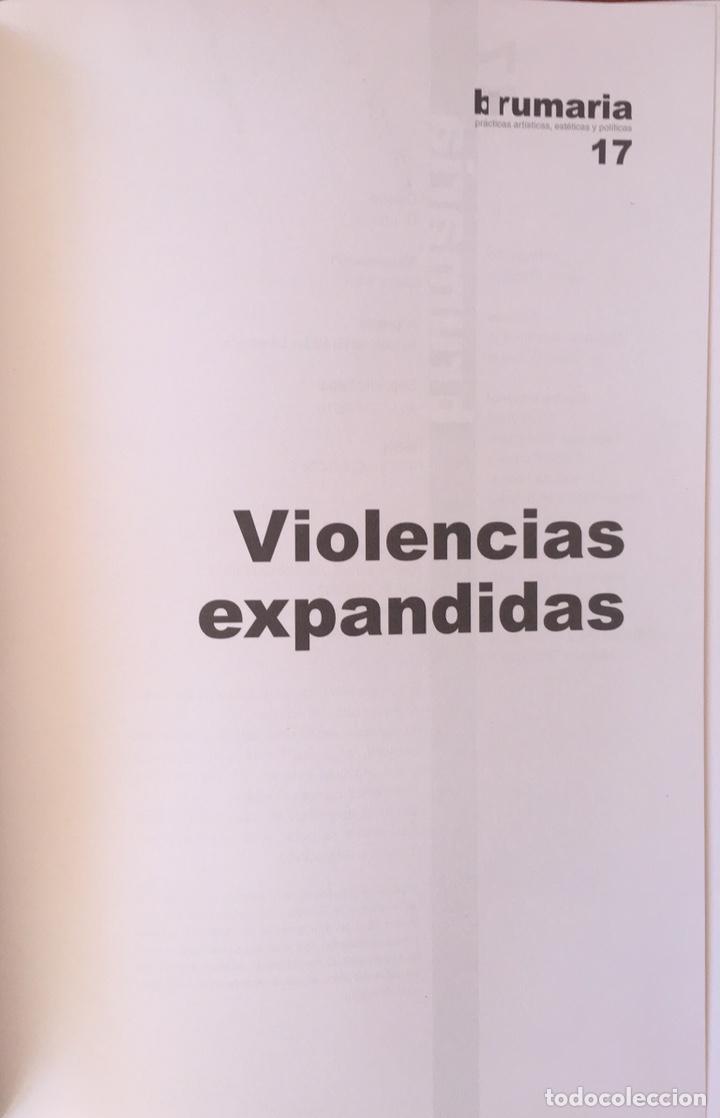 Libros de segunda mano: Violencias expandidas. Madrid: Brumaria, DL 2010. - Foto 3 - 158579006