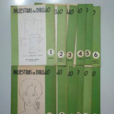 Libros de segunda mano - MUESTRAS DE DIBUJO. A. CARBONELL SOLER. COLECCION DE 12 CARPETAS. COMPLETA. EDITORIAL ROMA. TDKR44 - 158586214
