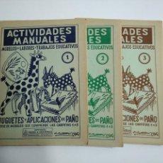Libros de segunda mano - ACTIVIDADES MANUALES. MODELOS DE LABORES Y TRABAJOS EDUCATIVOS. JUGUETES Y APLICACIONES PAÑO TDKR44 - 158588038