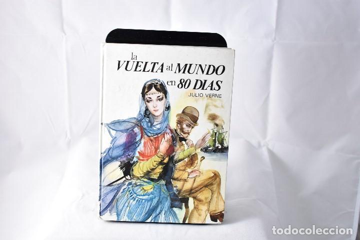 LA VUELTA AL MUNDO EN 80 DIAS. JULIO VERNE. SUSAETA. 1979. (Libros de Segunda Mano - Literatura Infantil y Juvenil - Otros)