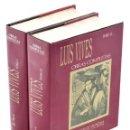 Libros de segunda mano: OBRAS COMPLETAS, I-II (EDICIÓN COMPLETA EN 2 TOMOS) - VIVES, JUAN LUIS - AGUILAR. Lote 158629517