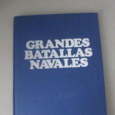 Libros de segunda mano: GRANDES BATALLAS NAVALES BIBLIOTECA DE LA VANGUARDIA TAPAS DURAS 275 PAGINAS PEQUEÑO ROCE. Lote 158673694