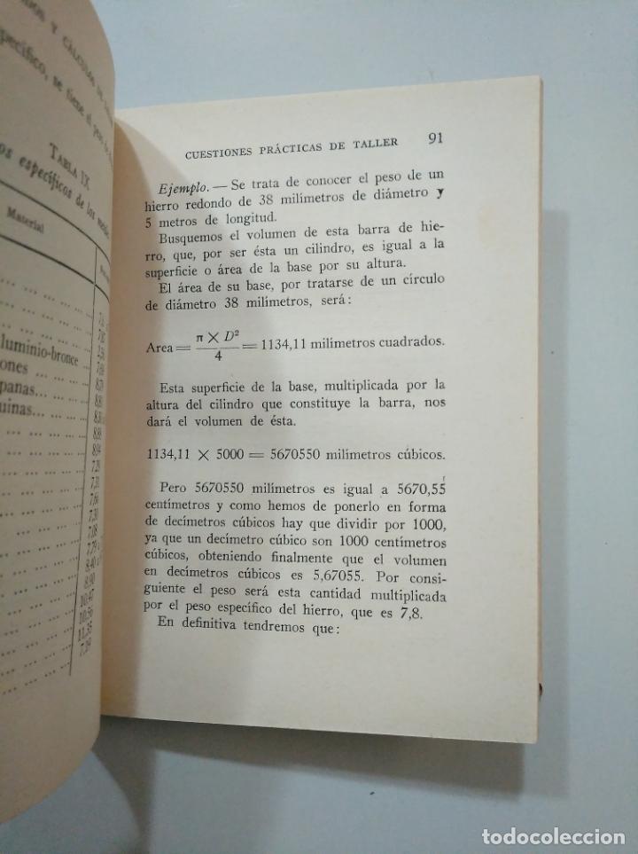 Libros de segunda mano: TRAZADOS Y CALCULOS DE TALLER. AUSTIN, G. BIBLIOTECA PRACTICA DE MECANICA VII. JUAN BRUGUER. TDK378 - Foto 3 - 158674686