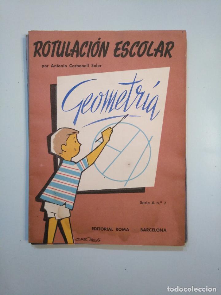 Libros de segunda mano: ROTULACION ESCOLAR. ANTONIO CARBONELL SOLER. LOTE COLECCION DE 12 ESTUCHES CON LAMINAS. TDKR44 - Foto 7 - 158676210