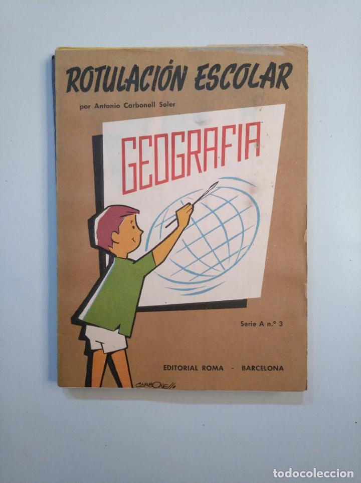 Libros de segunda mano: ROTULACION ESCOLAR. ANTONIO CARBONELL SOLER. LOTE COLECCION DE 12 ESTUCHES CON LAMINAS. TDKR44 - Foto 11 - 158676210
