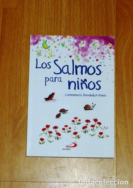 LOS SALMOS PARA NIÑOS / TEXTOS E ILUSTRACIONES, CARMENMARÍA HERNÁNDEZ ALONSO (Libros de Segunda Mano - Literatura Infantil y Juvenil - Otros)