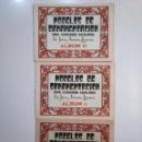 Libros de segunda mano: MODELOS DE ORNAMENTACION PARA CUADERNOS ESCOLARES. JUAN NAVARRO HIGUERA. ALBUM I, II Y III. TDKR44. Lote 158679058