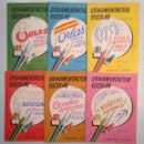 Libros de segunda mano: ORNAMENTACION ESCOLAR. ANTONIO CARBONELL SOLER. LOTE DE 6 ESTUCHES CON LAMINAS. TDKR44. Lote 158679314