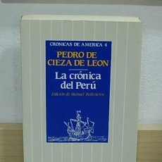 Libros de segunda mano: LMV - LA CRÓNICA DEL PERÚ. PEDRO DE CIEZA DE LEON. Lote 158728610