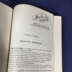 Libros de segunda mano: LIBRO MECANICA AÑOS 40 VER FOTOS NO AUTOR NO EDITOR 23,5X16,5CMS. Lote 158744522